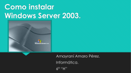 Como instalar Windows Server 2003.