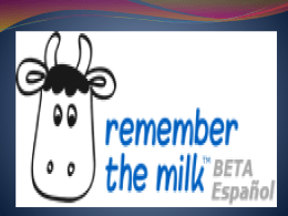 Ventajas de Remember the milk Que hace