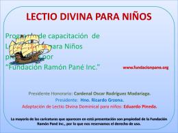 Misioneritos - Fundación Ramón Pané
