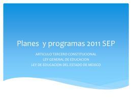 COMPETENCIAS 2011 - temas relacionados a educación