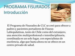 PROGRAMA FISURADOS Introducción