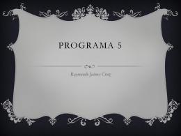 Programa 5 - FI