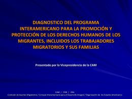 diagnostico del programa interamericano para la promoción y
