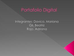 Portafolio Digital - Nuevas Tecnologías en el Contexto