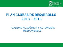 Diapositiva 1 - Dirección Nacional de Planeación y Estadística