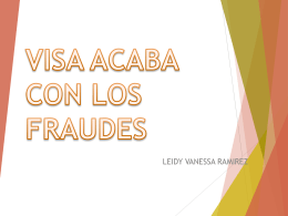VISA ACABA CON LOS FRAUDES - Over-blog
