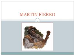 MARTIN FIERRO - Losliteratos