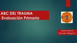 ABC DEL TRAUMA Evaluación Primaria