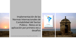 Implementación de las Normas Internacionales de