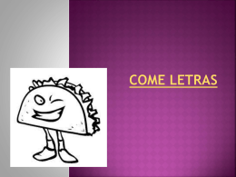 come letras - WordPress.com
