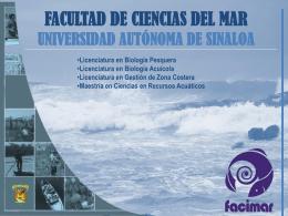 PLAN-FACIMAR UAS - Facultad de Ciencias Marinas