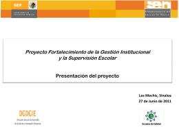 Diapositiva 1 - Diplomado en Gestión Institucional e Innovación