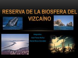 Reserva de la Biosfera del Vizacaino presentacion