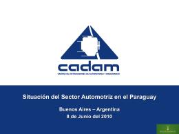 Situación del Sector Automotriz en el Paraguay