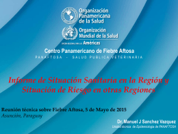 Reunion Tecnica FA_Asuncion_Informe de
