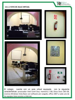 13.1.1 Foto del aula..