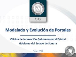 Metodología Portales Nuevo Sonora Digital