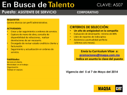 Promociones Internas - WORKSHOP