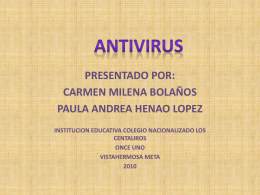 Antivirus - ParqueSoft