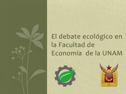 E - Facultad de Economía