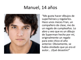Manuel, 14 años - Language Links 2006