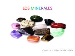 Los minerales 1 - Colegio Público Ana Soto