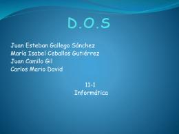 D.O.S - Webnode