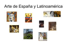 Arte de España y Latinoamérica