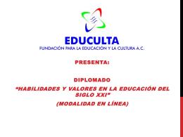 Unidad 1: Estilos de aprendizaje - Fundación para la Educación y la