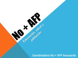 Presentación No + Afp