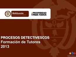 PROCESOS DETECTIVESCOS - Edmundo Altamiranda Baldiris