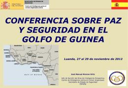 Estructutura y funciones del CICO - Conferência de Luanda sobre a