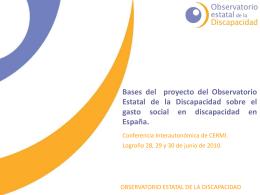 ponencia observatorio discapacidad