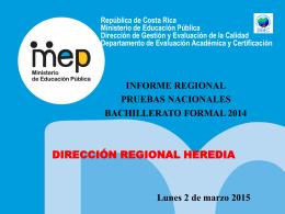 INFORME HEREDIA bach 2014 24 Febrero-2015