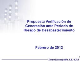 Propuesta RES 146 TEBSA