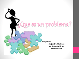 Que es un problema (201605)