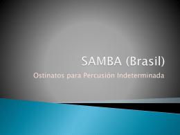 Samba Batucada - Partitura