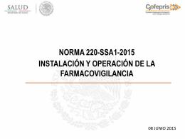Mtra. Rocio del Carmen AlatorrePRESENTACION NORMA 220 4
