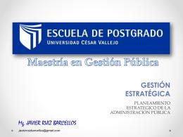 sesion 5 _ planeamiento estrategico en el sector publico