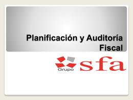 Planificación y Auditoría Fiscal
