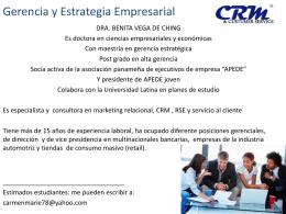 Gestión Empresarial - Universidad Latina de Panamá