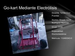 Presentacion Del Proyecto(Go-kart)