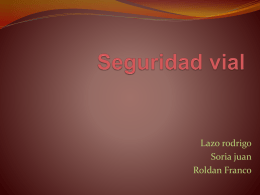 Seguridad vial - Your Ideas Your Initiative