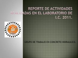 reporteGTCH2011