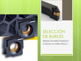 SELECCIÓN DE BURILES FINAL