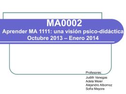 introducción a la asignatura, cronograma y plan de