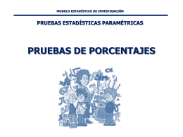 PRUEBA DE PORCENTAJES