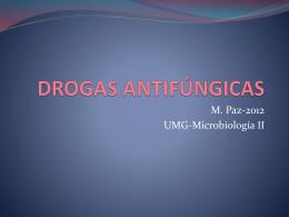 DROGAS ANTIFÚNGICAS