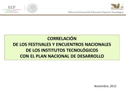FESTIVALES Y ENCUENTROS NACIONALES Estrategia 3.3.5