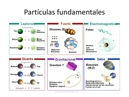 PartÃculas fundamen.. - Grupo de Física experimental de altas